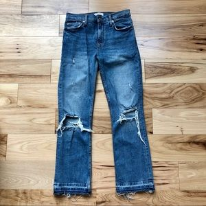 Open to offers! Zara ripped jeans